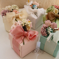 Reception, Flowers & Decor, Favors & Gifts, white, pink, blue, green, brown, Favors, Flowers, Floral, Decorations, Boxes