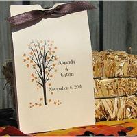 DIY, Reception, Flowers & Decor, Favors & Gifts, yellow, orange, brown, gold, Favors, Fall, Flowers, Fall Wedding Flowers & Decor, Wedding, Autumn
