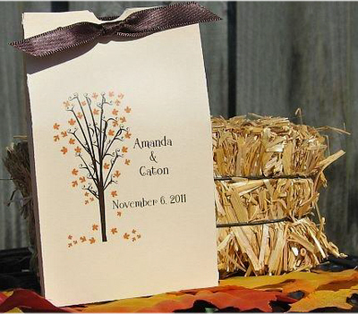 DIY, Reception, Flowers & Decor, Favors & Gifts, yellow, orange, brown, gold, Favors, Fall, Flowers, Fall Wedding Flowers & Decor, Wedding, Autumn