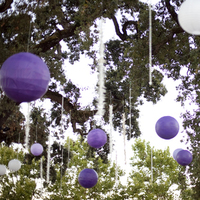 Ceremony, Reception, Flowers & Decor, white, purple, Ceremony Flowers, Vineyard, Flowers, Vineyard Wedding Flowers & Decor, Lanterns, Crystals, Paper cranes, Oak grove