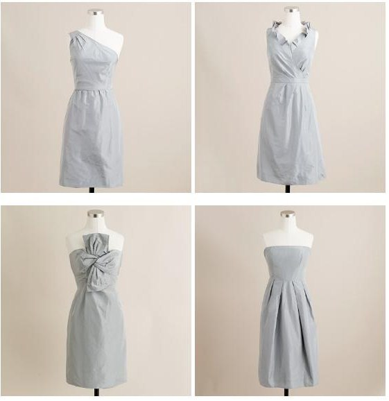 Bridesmaids, Bridesmaids Dresses, Fashion, gray, silver, J, Crew