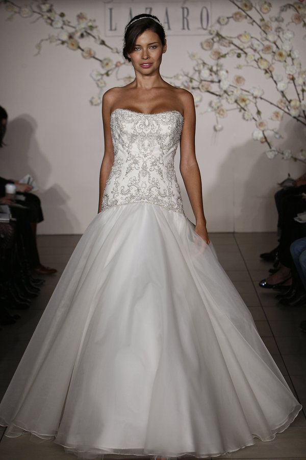 Wedding Dresses, Fashion, dress, Lazaro, 3904