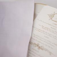 Reception, Flowers & Decor, white, green, brown, Menu