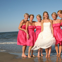 Bridesmaids, Bridesmaids Dresses, Beach Wedding Dresses, Fashion, pink, Beach