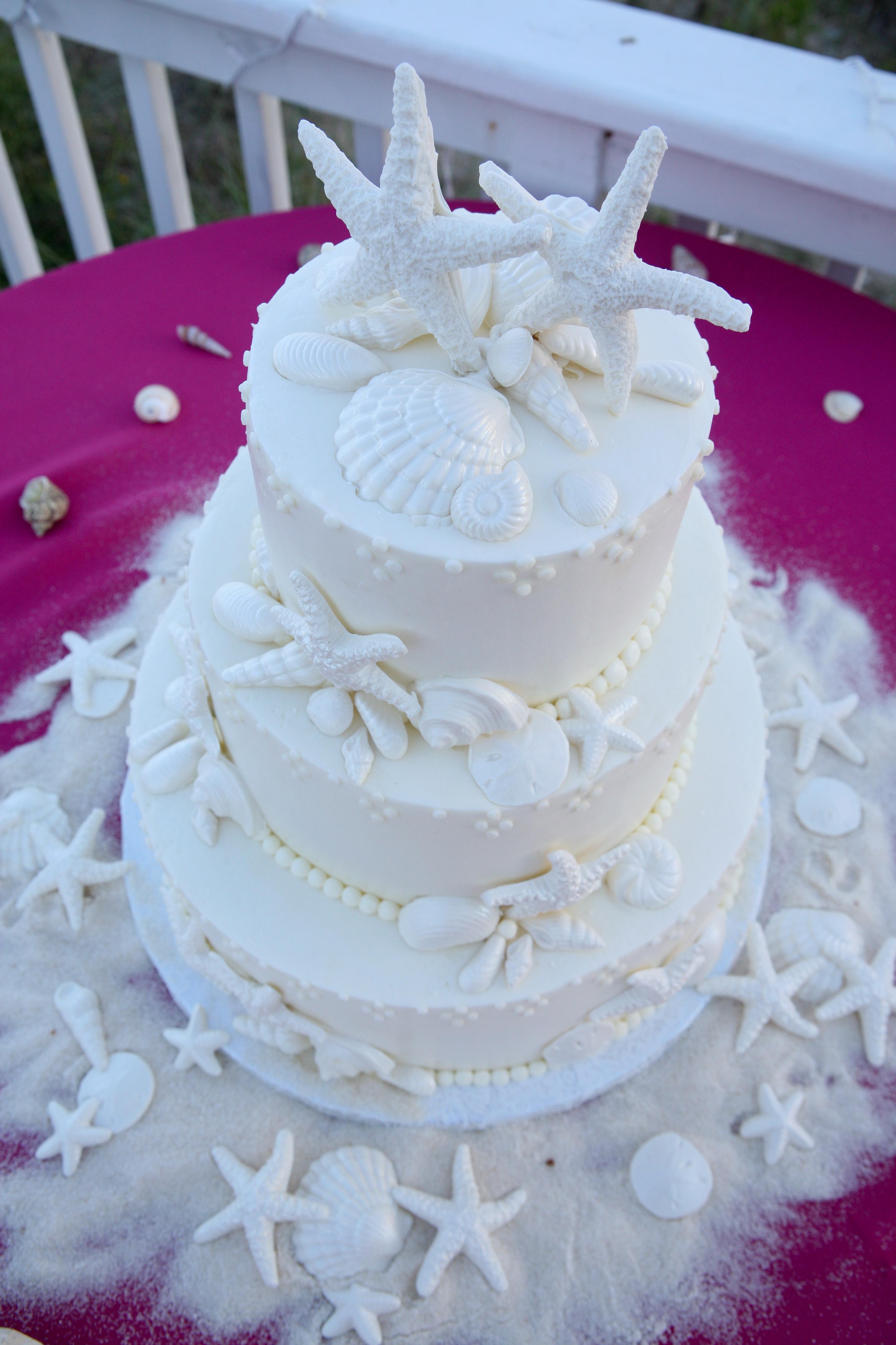 Cakes, cake, Beach, Shells