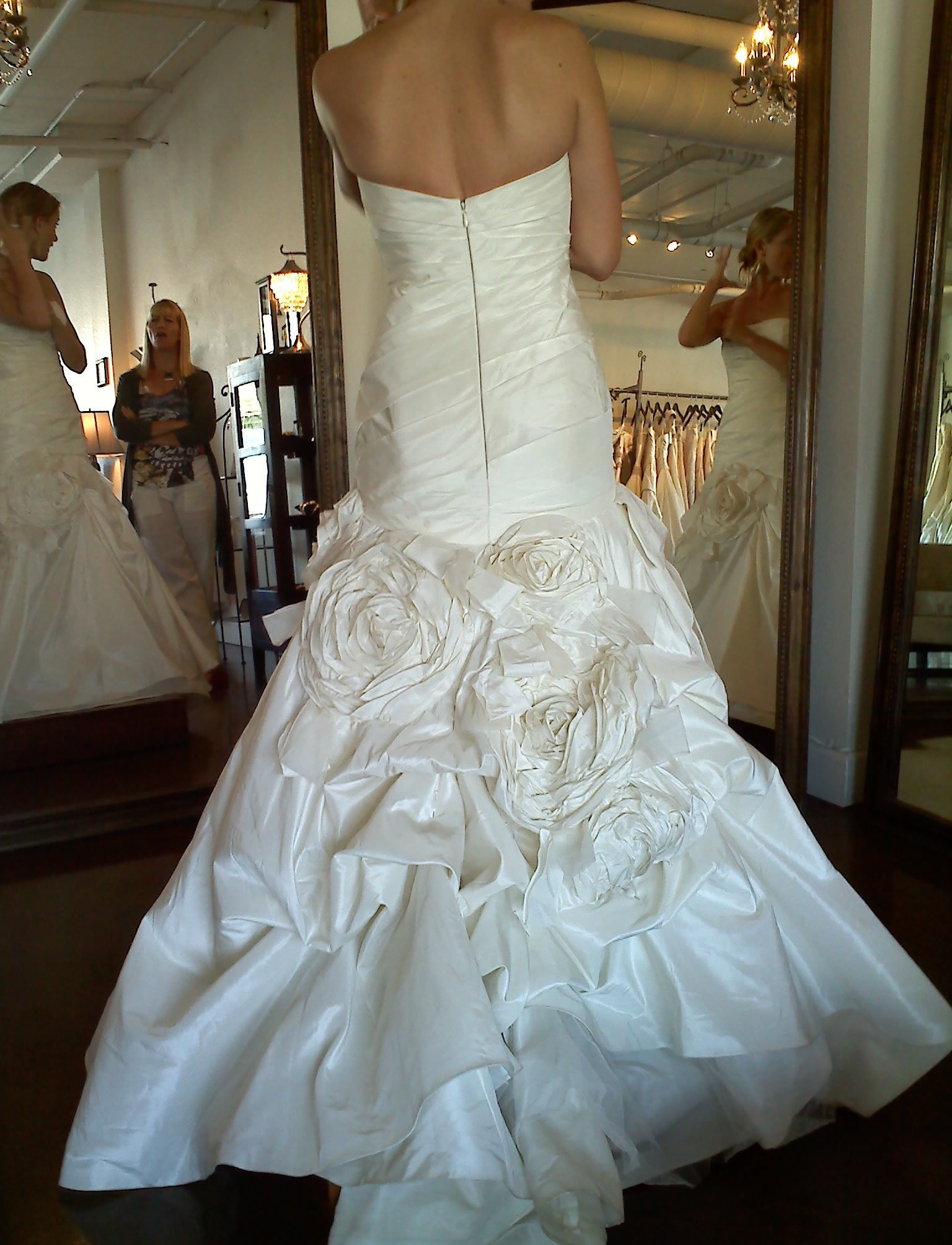 Wedding Dresses, Fashion, dress, Bustled