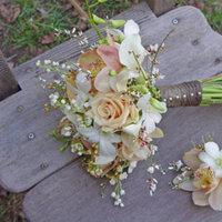 Flowers & Decor, gold, Flowers