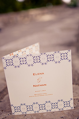 Stationery, orange, Classic, Invitations, Lace, Spanish, Romance, Navy, Elena nathan