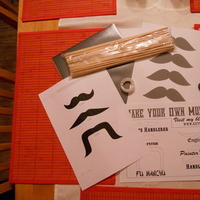 DIY, Favors & Gifts, black, Favors, Mustaches