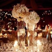 Flowers & Decor, white, gold, Flowers