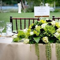 Reception, Flowers & Decor, green, Flowers