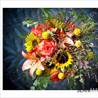 Flowers & Decor, yellow, orange, Flowers