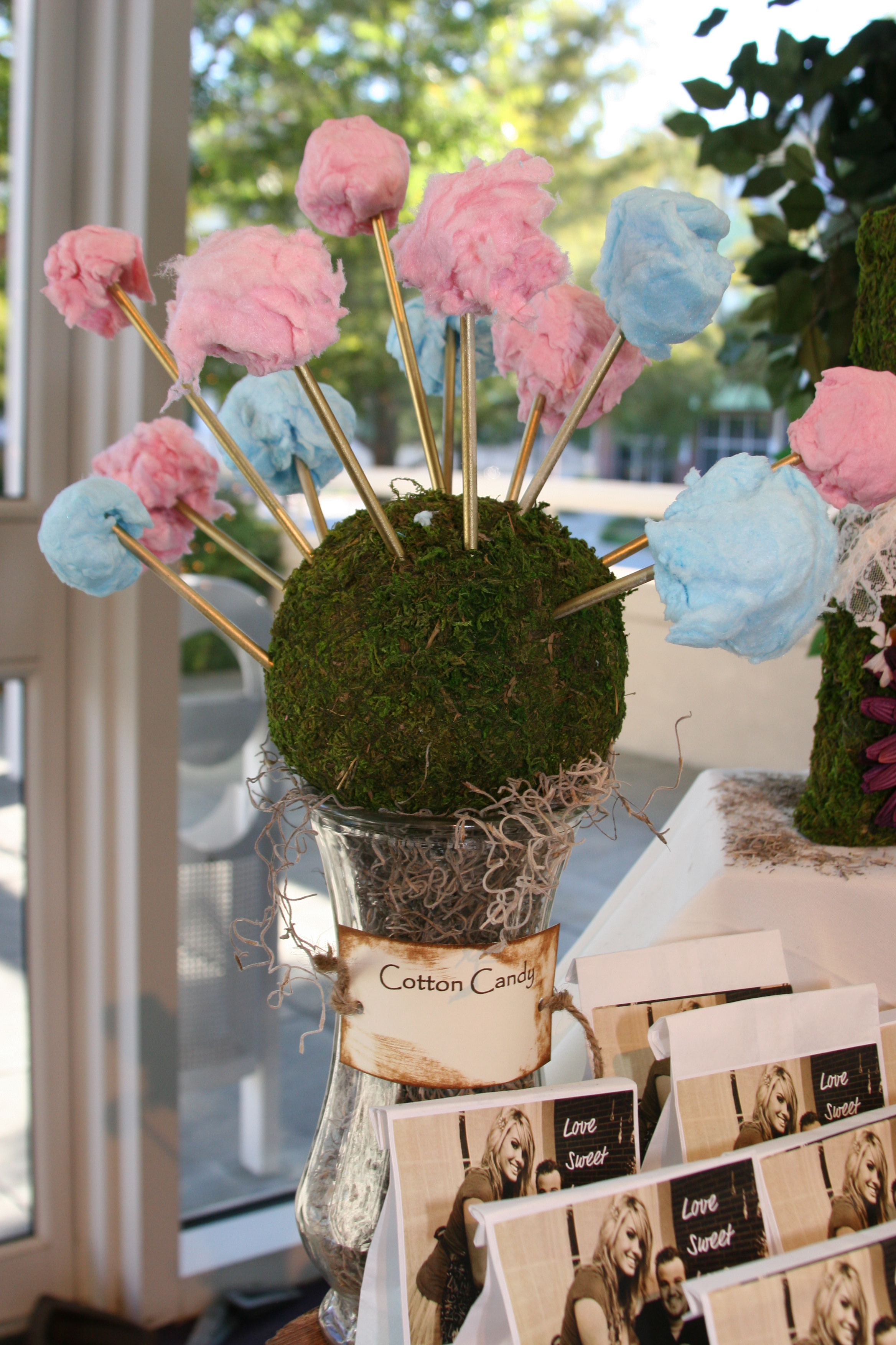 Reception, Flowers & Decor, Cakes, green, brown, cake, Flowers, Candy, Buffet, Inspiration board, Cotton