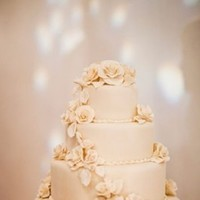 Flowers & Decor, Cakes, ivory, cake, Flowers