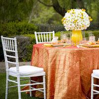 Reception, Flowers & Decor, white, yellow, orange