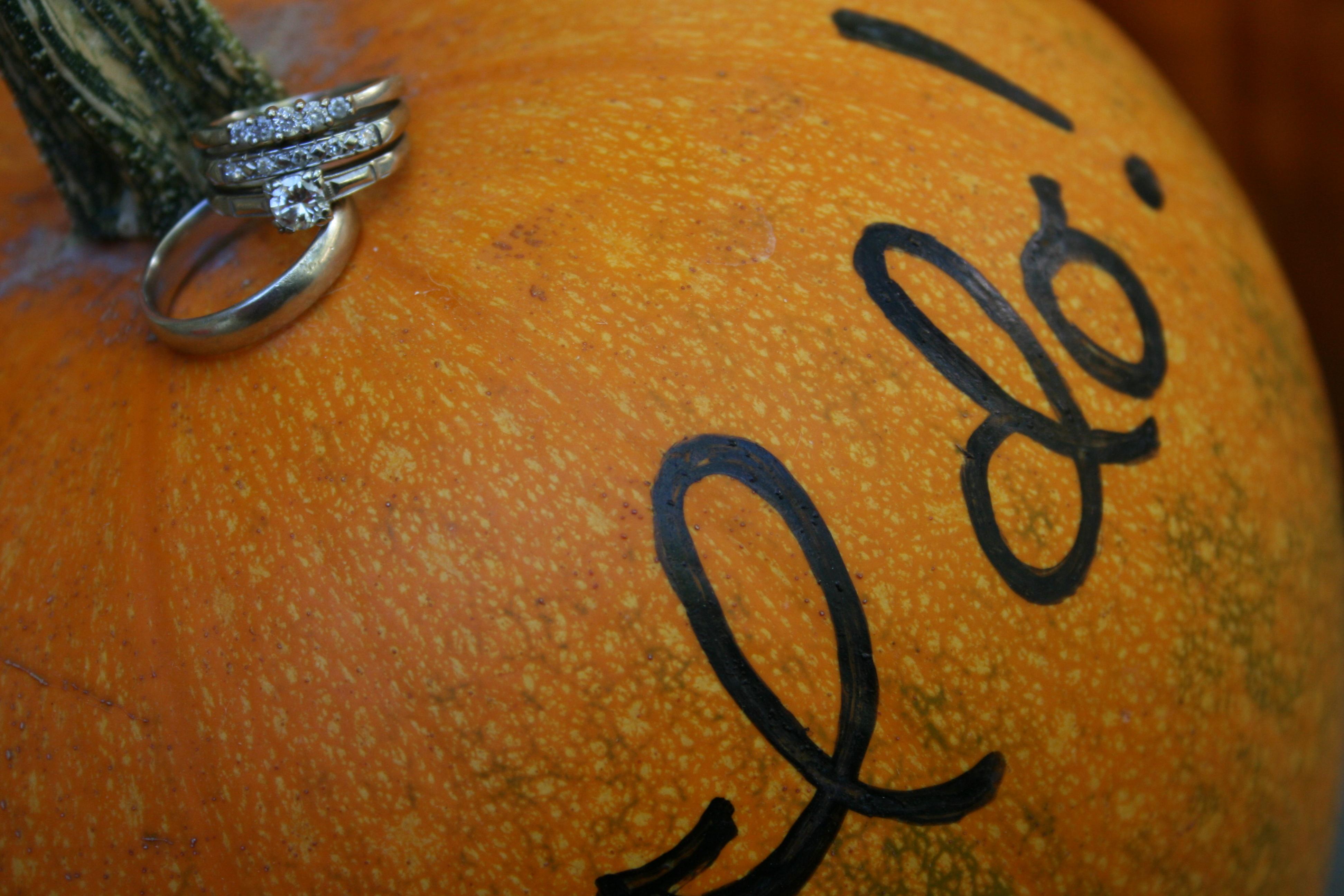orange, Rings, Pumpkin