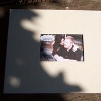 Ceremony, DIY, Flowers & Decor, purple, green, Guestbook, Envelope, Card, Scrapbook, Letter