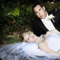 Beauty, Wedding Dresses, Fashion, white, black, dress, Makeup, Hair
