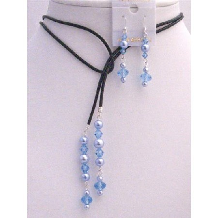 Ceremony, Flowers & Decor, Favors & Gifts, Jewelry, Bridesmaids, Bridesmaids Dresses, Fashion, blue, Necklaces, Favors, Pearls, Necklace, Bridemaids jewelry, Crystals, Lariat