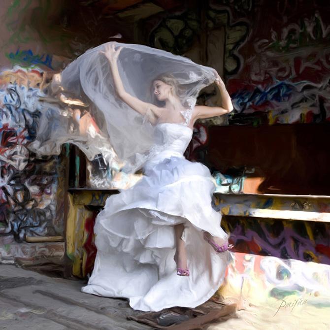 Wedding Dresses, Fashion, dress, The, Inspiration board, Trash, Garffitti