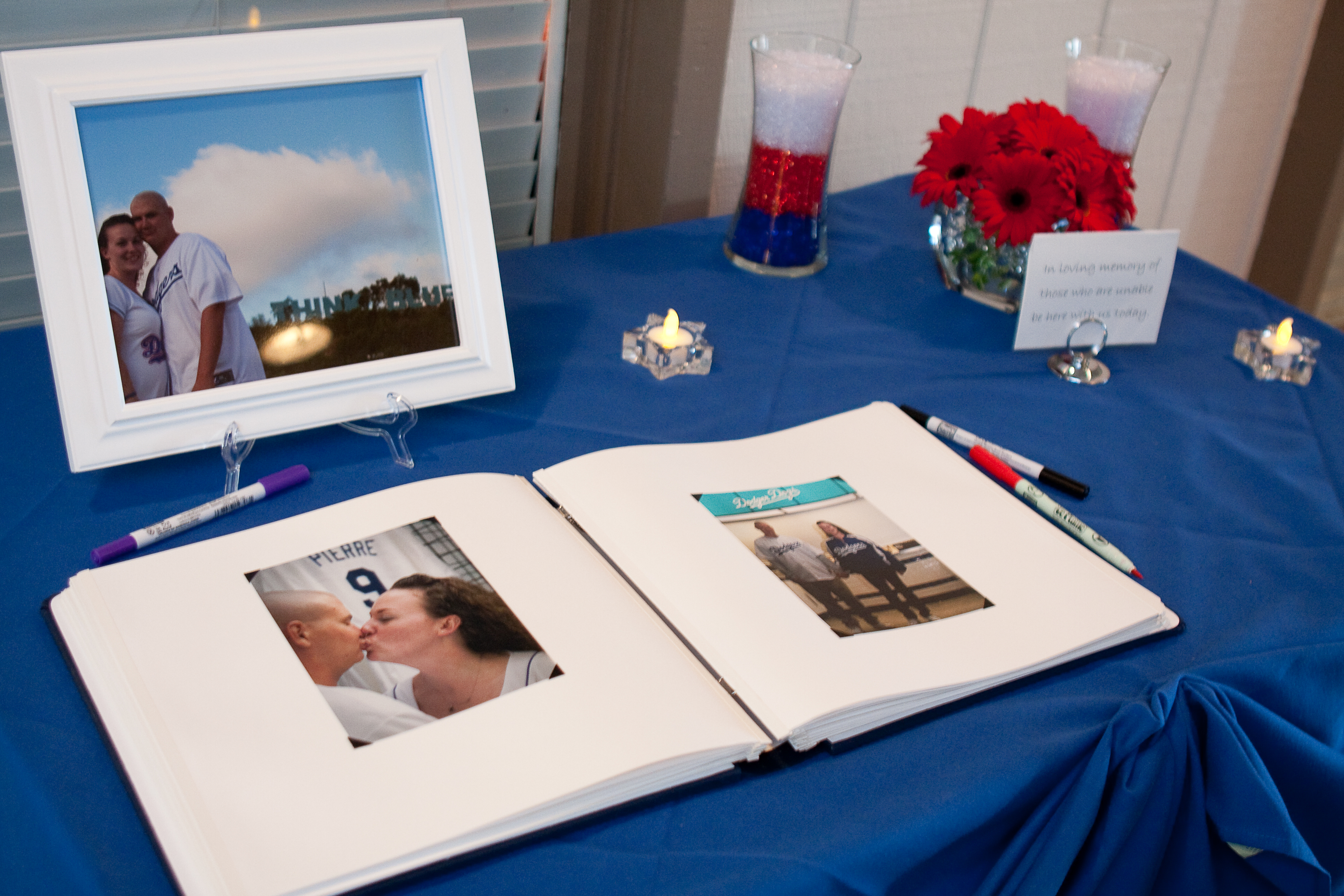 Reception, Flowers & Decor, Photography, white, red, blue, Table, Guest, Hollis, Cari