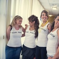 Bridesmaids, Bridesmaids Dresses, Fashion, yellow, blue, silver