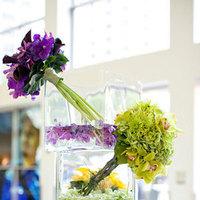 Reception, Flowers & Decor, purple, green, Decorations