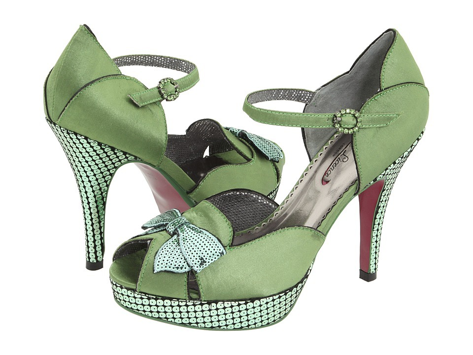 Shoes, Fashion, green