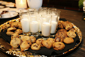 Food, Cookies, Inspiration board, Milk