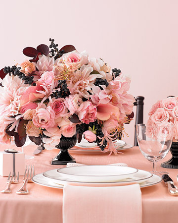 Ceremony, Reception, Flowers & Decor, white, pink, black, Ceremony Flowers, Centerpieces, Centerpiece, Inspiration board