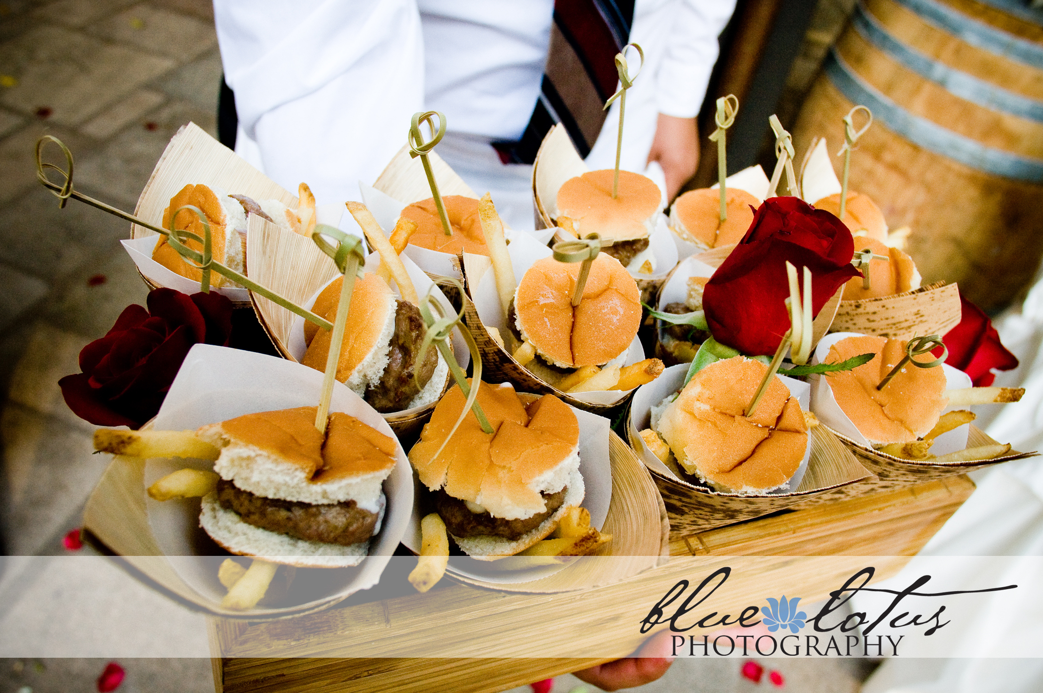 Reception, Flowers & Decor, Food, Mini, Inspiration board, French, Burgers, Fries