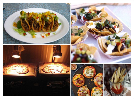 Reception, Flowers & Decor, Food, Mini, Cheese, Inspiration board, Burgers, Tacos, Burger, Fries, Nachos
