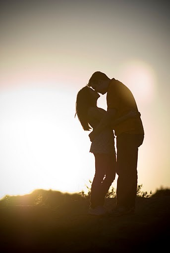 Outdoor, Engagement, Silhoutte