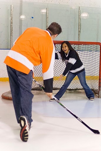 Ice, Engagement, Hockey, Jerseys, Rink, Goalie