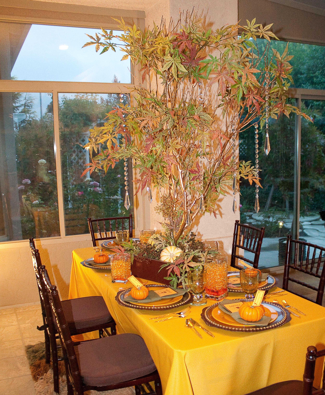 Reception, Flowers & Decor, white, yellow, orange, green, brown, gold, Flowers