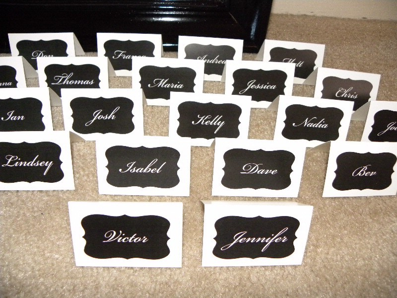 Stationery, Place Cards, Placecards
