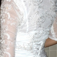 Wedding Dresses, Fashion, white, dress, Bolero