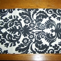 Ceremony, Reception, Flowers & Decor, white, yellow, orange, pink, red, purple, blue, green, black, silver, gold, Table, Runner, Damask