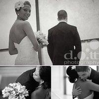 Beauty, Flowers & Decor, Jewelry, Wedding Dresses, Shoes, Fashion, white, black, dress, Makeup, Bride Bouquets, Bride, Flowers, Groom, Hair, First, Look, Flower Wedding Dresses