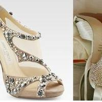 Shoes, Fashion, silver, Bling