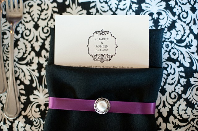 Flowers & Decor, purple, black, Modern, Vineyard, Damask, Sugarplum, Charity romben