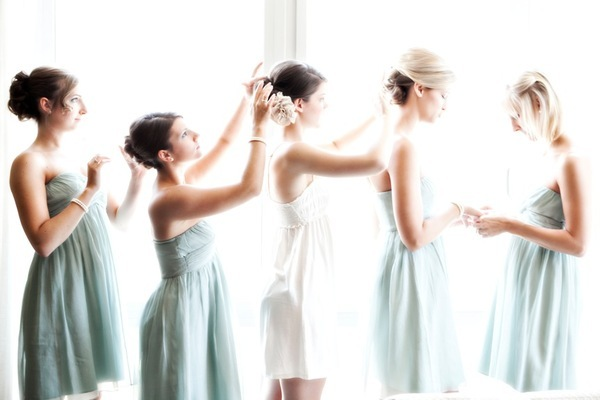 Beauty, Ceremony, Reception, Flowers & Decor, Bridesmaids, Bridesmaids Dresses, Wedding Dresses, Fashion, white, blue, dress, Bride, Hair, Inspiration board, Line