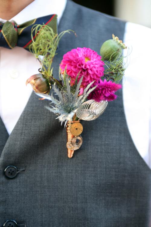 Ceremony, Reception, Flowers & Decor, pink, blue, green, gold, Ceremony Flowers, Groomsmen, Flowers, Flower, Groom, Inspiration board, Bout, Key, Doialies