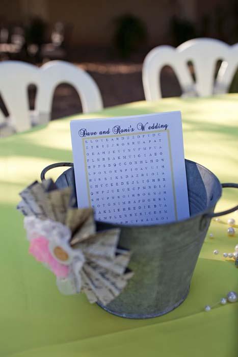 Reception, Flowers & Decor, white, yellow, Fun, Inspiration board, Puzzle, Crossword