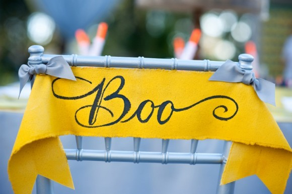 Reception, Flowers & Decor, yellow, Tables & Seating, Grey, Chairs, Halloween, Ribbon, Inspiration board, Tags, banners, Sayings