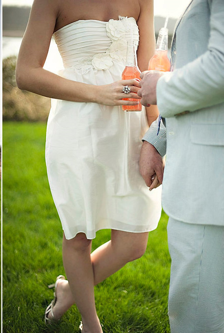 Reception, Flowers & Decor, Wedding Dresses, Fashion, white, dress, Short, Short Wedding Dresses
