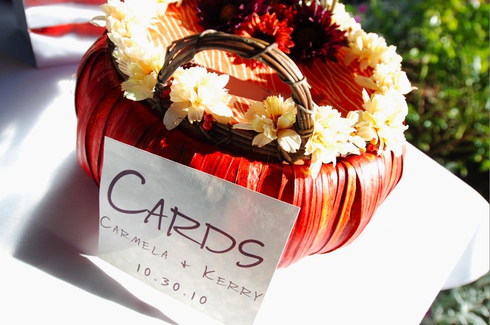 Fall, Card box, Pumpkin card box, Keith nelson photography
