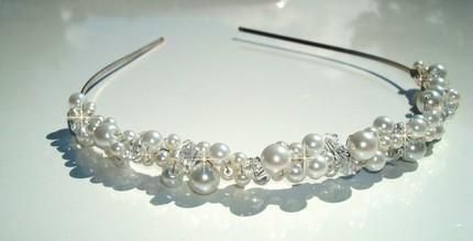 Beauty, Headbands, Hair, Pearls, Headband