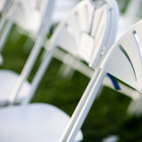 Ceremony, Flowers & Decor, blue, green, Signs, Seating