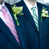 Flowers & Decor, blue, green, Groomsmen, Flowers